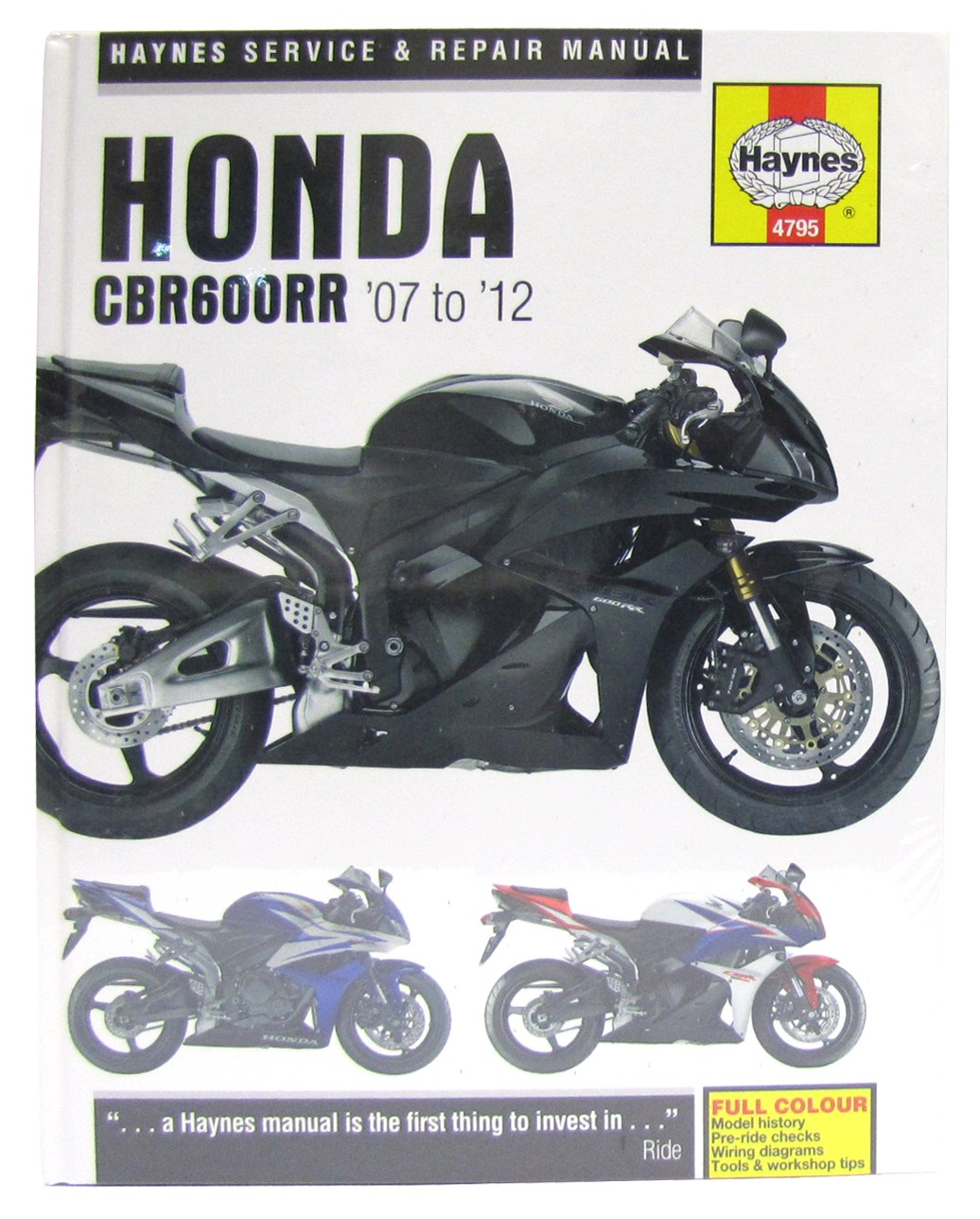 Image is loading Haynes-Manual-Fits-Honda-CBR600RR7-RRC-07-12-