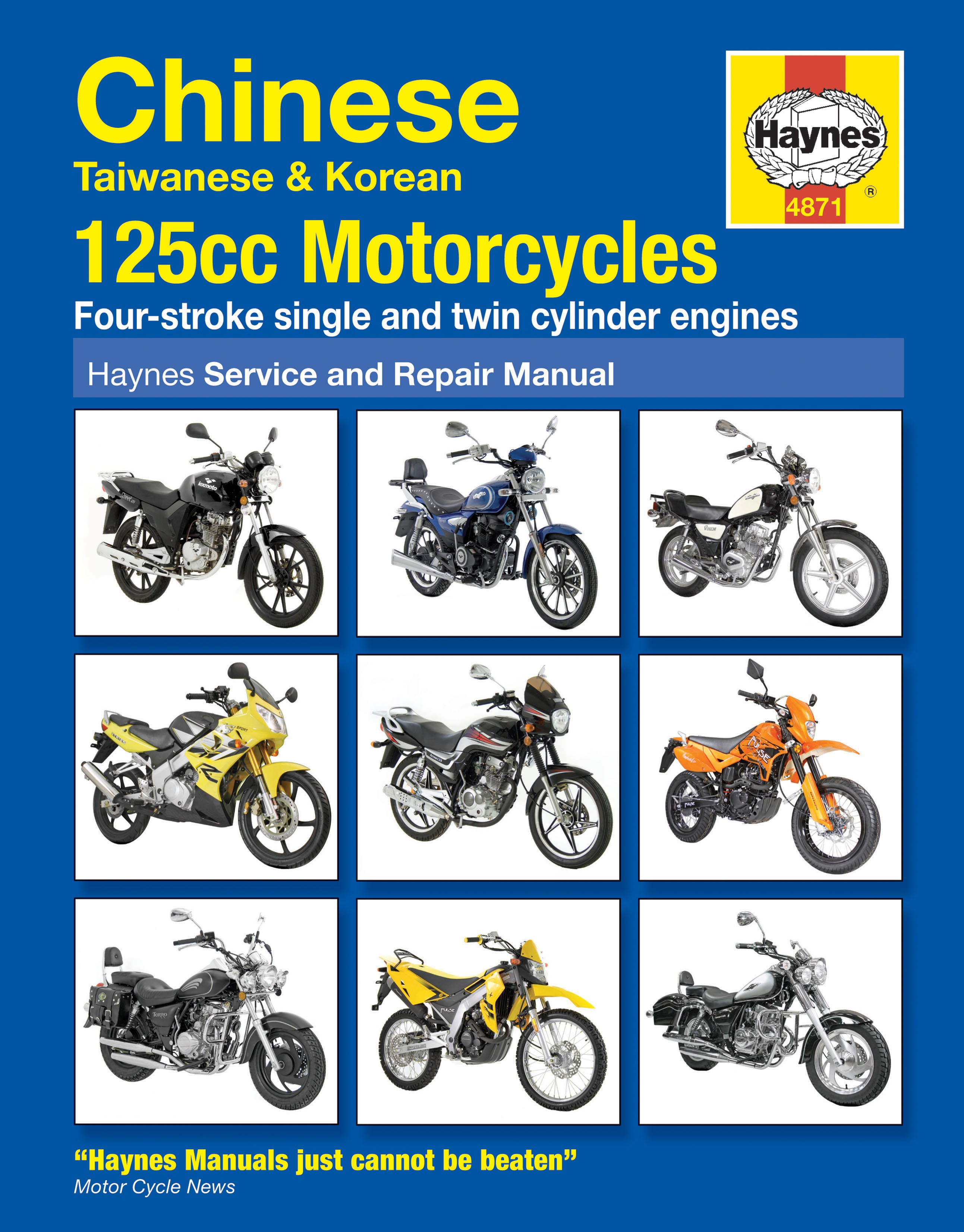 Image is loading Haynes-Manual-Chinese-Taiwanese-Korean-125-Motorcycles-Each