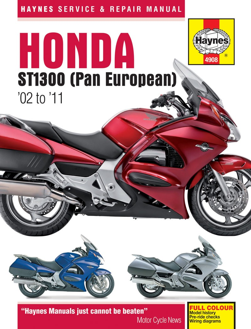 Image is loading Haynes-Manual-Fits-Honda-ST1300-Pan-European-02-