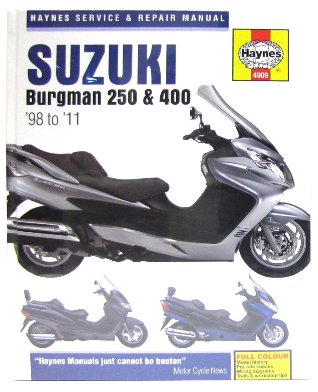 Image is loading Suzuki-AN-250-Burgman-UK-1998-2002-Manuals-