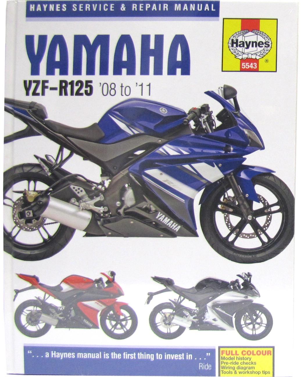 Haynes Manual Yamaha Yzf R125 08 11 Each 692761895768 Ebay Wiring Diagram Image Is Loading